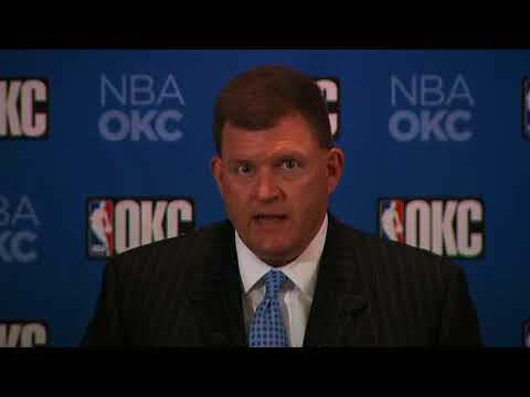 Clay Bennett news conference (2008-07-03)