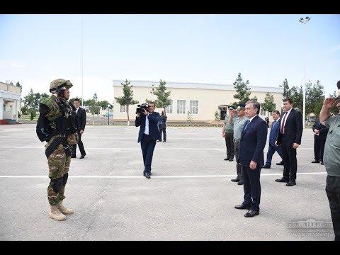 Президент Шавкат Мирзиёев 12-13 июня посетил Ферганскую область (\