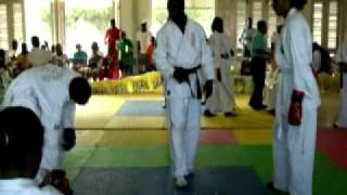 Zen-Do Kai Kan Tournament Whitebelt fight