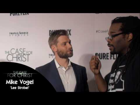 Mike Vogel - The Case For Christ Red Carpet Premiere Interview