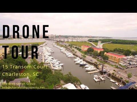 Drone Tours With Bob: 15 Transom Ct., Charleston, SC (West Ashley)