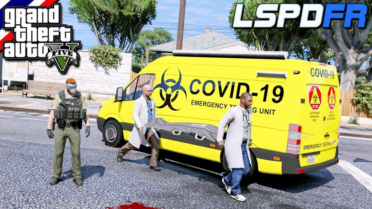 GTA V - LSPDFR มาเป็นตำรวจในเกม GTA V นายอำเภอตั้ม ไล่จับคนร้ายขับรถบรรทุกหนี ชนคน! เดินข้างทาง #149