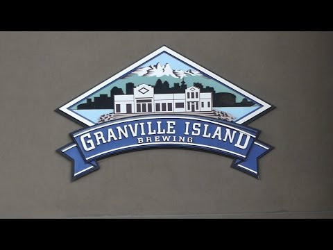 Tour at Granville Island Brewing. How to make beer.