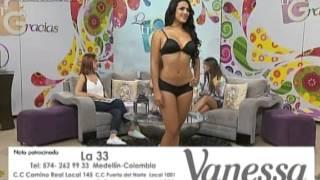 Desfile de ropa interior femenina con la marca Vanessa en La...