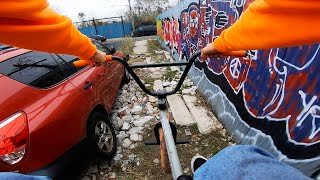 EXPLORING THE STREETS OF EAST NEW YORK (BMX)