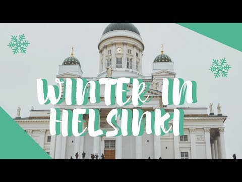 HELSINKI IN WINTER // WHAT TO SEE, DO & EAT