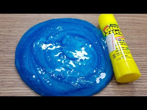 1-ingredient-slime-glue-stick-!-how-to-make-slime-with-glue-stick
