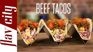How to Make Ground Beef Tacos: Tips for Making Beef Tacos!