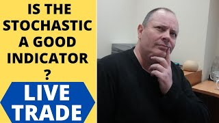 HOW TO USE STOCHASTIC - Live trade using indicator