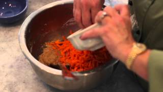 How To Bake Carrot Bread : Heart, Delicious Recipes