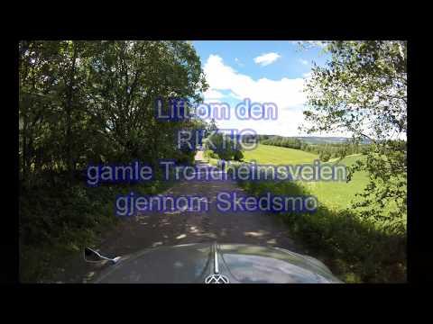 Den urgamle Trondheimsveien i Skedsmo