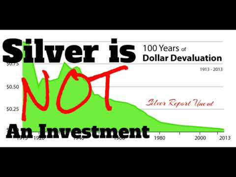 Silver Is NOT an Investment Part 2