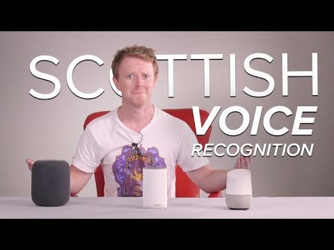 It's shite being Scottish in a smart speaker world