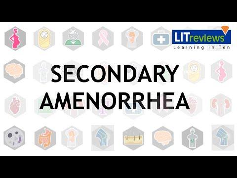 Secondary Amenorrhoea