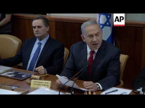 Israeli cabinet discusses Syria ceasefire