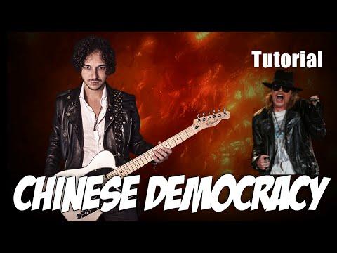 Como Tocar Chinese Democracy | Guns and Roses | Axl Rose | Tutorial Verso y Estribillo | Parte 2