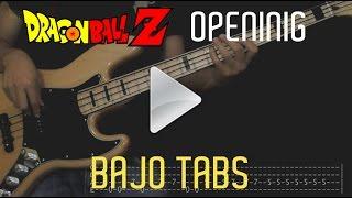 Dragon Ball Z - CHA-LA HEAD-CHA-LA  Opening Cover Bajo/Bass [Tabs]