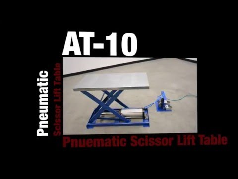 Pneumatic Scissor Lift Table AT-10