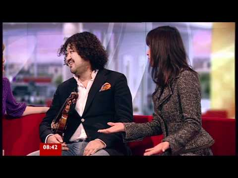 Taro Hakase on BBC Breakfast 17.03.11