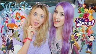 Reacting To British Kids Cartoons || ft. Connie Glynn