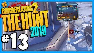 LEGENDARY FROM A POT?!!??! - The Hunt | Day #13 [Borderlands 2]