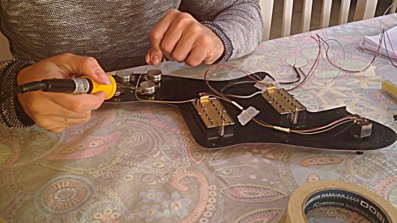 Wiring Telecaster Deluxe Youtube Acme Guitar Works Fender Diagrams