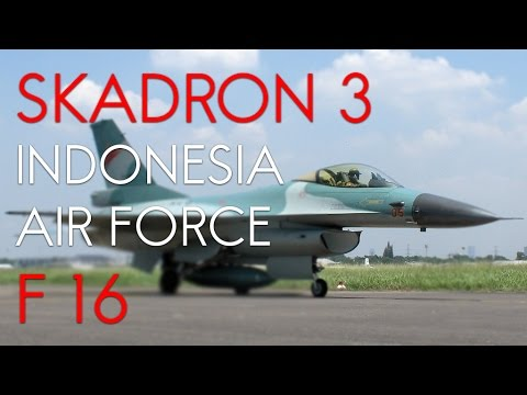 Indonesian Airforce - Skadron 3 F-16 Fighting Falcon TNI AU