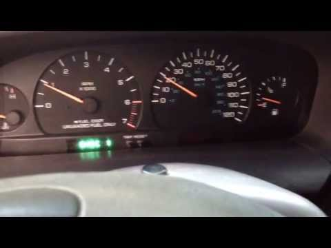 1997 chrysler town and country gauge sweep tutorial