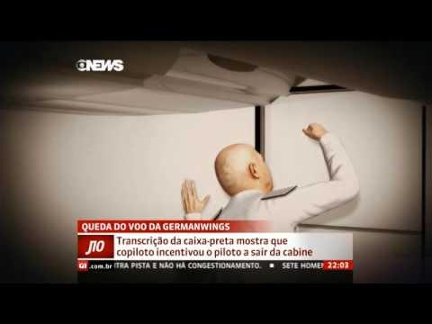 Caixa-preta mostra que copiloto incentivou o piloto a sair da cabine