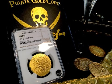 COLLECTING AND INVESTING IN REAL AUTHENTIC PIRATE TREASURE FROM SHIPWRECKS