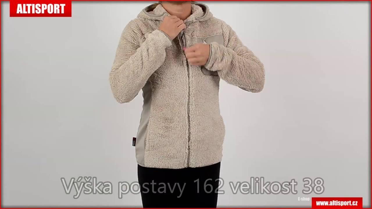 dámská fleece mikina alpine pro moosa béžová - YouTube ee636005862