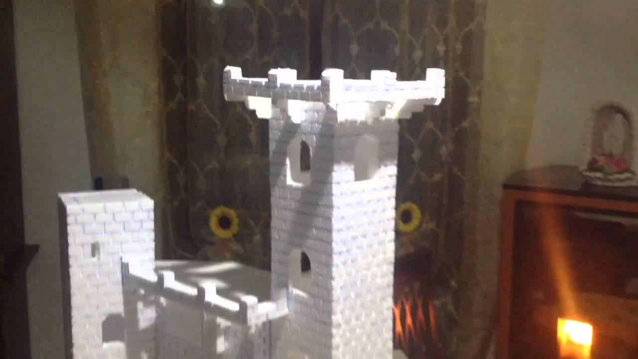 Creare presepe castello fai da te youtube - Paraspifferi finestre fai da te ...