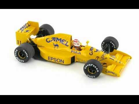Lotus 101 Judd Nelson Piquet Japan GP 1989 1:43 Scale Model Car