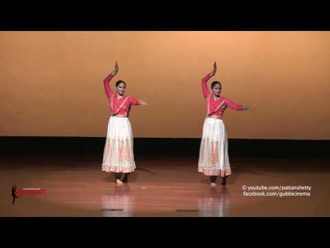 Meghana Rao and Antara Rao Performance at Smaran Dance Festival 2016