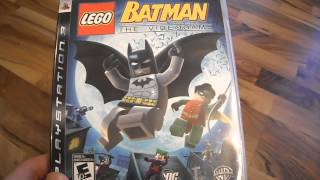 Review LEGO batman PS3 sony playstation 3 DC super heroes robin joker catwoman two face