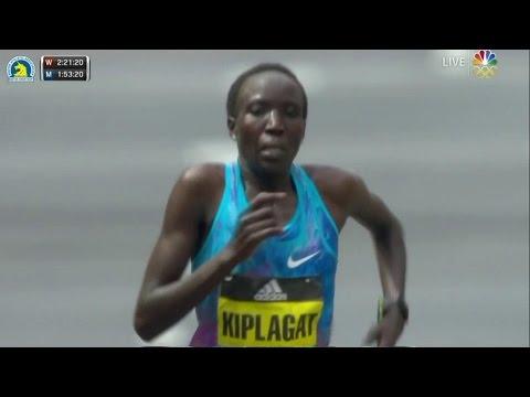 2017 Boston Marathon: Edna Kiplagat wins Women's Elite