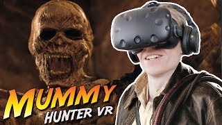 ENTERING A HAUNTED PYRAMID IN VIRTUAL REALITY! | Mummy Hunter VR (HTC Vive Gameplay)