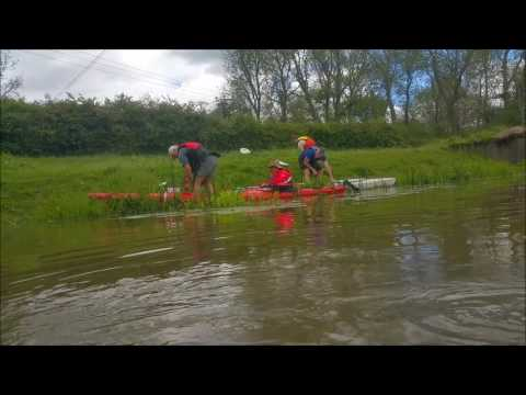 Kayaking the river Arun