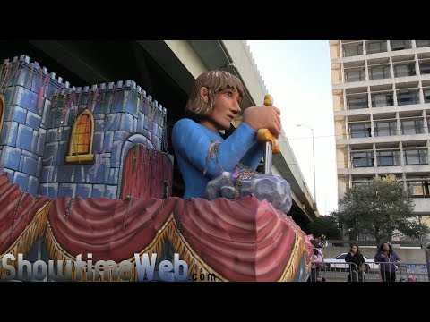 Krewe of King Arthur and MerlinParade - 2018 New Orleans Mardi Gras