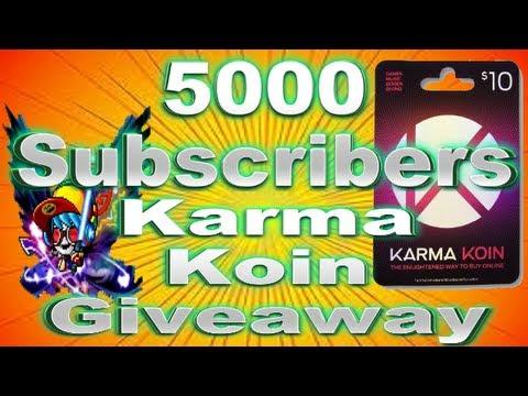 free karma koin codes giveaway