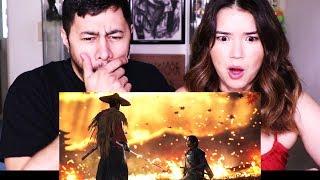 GHOST OF TSUSHIMA | E3 2018 Gameplay Debut | Trailer Reaction!