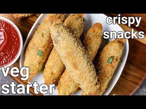 crispy veg starter recipe - quick evening snack | veg crispy restaurant style | veg crispy starter