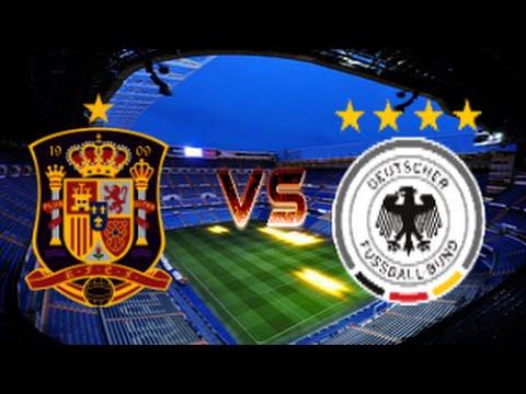 FIFA16 España - Alemania y Presentación del Canal
