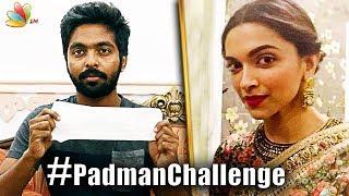 Celebrities take up the Padman Challenge, would you do it too? | G.V. Prakash | Latest Cinema News