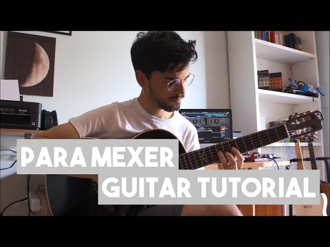 How To Play Para Mexer By Aal Guitar Tutorial Youtube