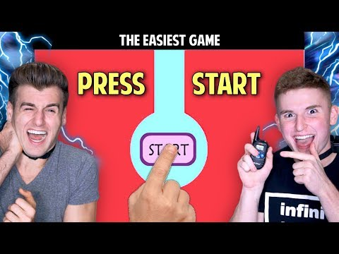 THE WORLD'S EASIEST GAME EVER!! (You Lose You Get Shocked) Ft. Infinite