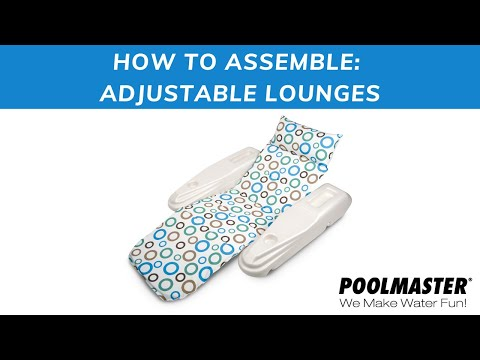 Adjustable Lounge Video Instructions