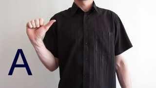Alphabet en langue des signes française