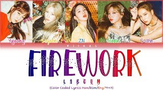 LABOUM (라붐) - Firework (불꽃놀이) (Color Coded Lyrics Han Rom Eng 가사)