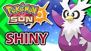 POKEMON SUN AND MOON | CATCHING SHINY DELIBIRD AND VULPIX